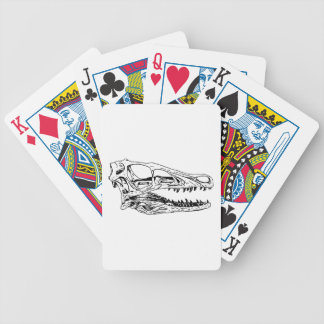 Deinonychus Bicycle Playing Cards