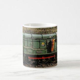 Deisel Train Mug