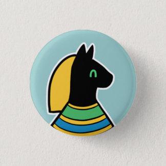 Deity :: Bastet 3 Cm Round Badge
