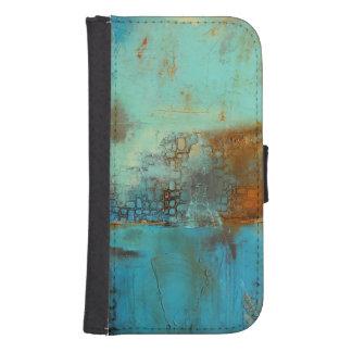 Deja Blue Samsung S4 Wallet Case