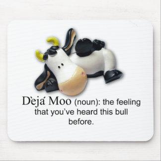 Deja Moo Mouse Mat