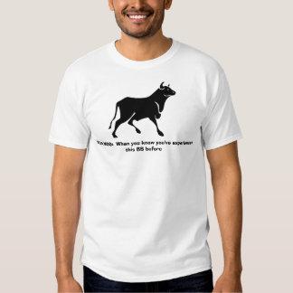 DEJA MOO Tee Shirt