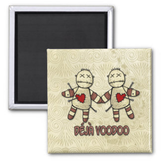 deja voodoo square magnet