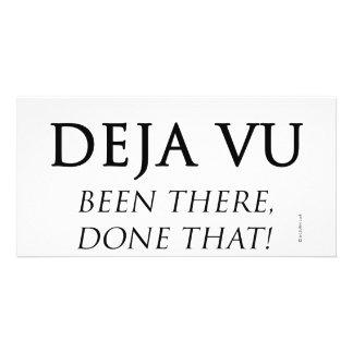 Deja Vu Photo Card