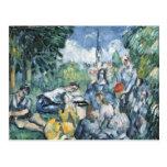 Dejeuner sur l'herbe, 1876-77 postcards
