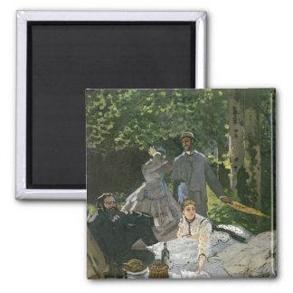 Dejeuner sur l'Herbe, Chailly, 1865 Magnet