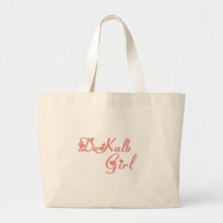 DeKalb Girl tee shirts Canvas Bag
