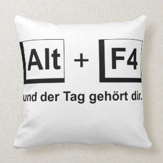 Dekokissen alto+F4 Throw Pillow