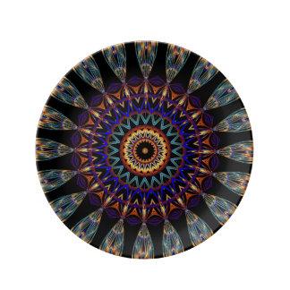 Dekoteller Mandala Porcelain Plates