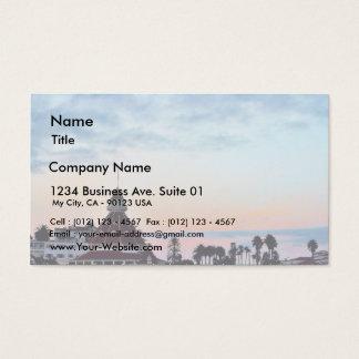 Del Coronado Sunset Business Card