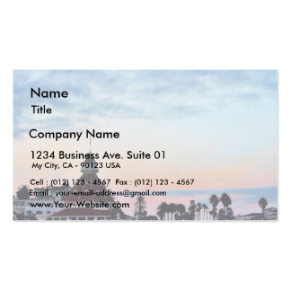 Del Coronado Sunset Pack Of Standard Business Cards