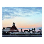 Del Coronado Sunset Postcard