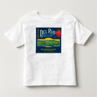 Del Rio Apple Crate LabelMedford, OR Toddler T-Shirt