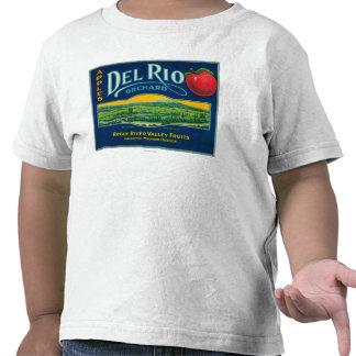 Del Rio Apple Crate LabelMedford OR T-shirt