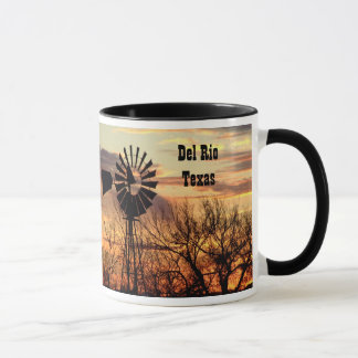 Del Rio texas souvenir windmill Mug