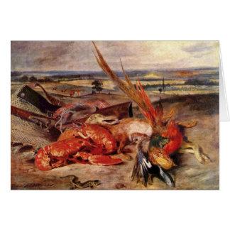 Delacroix Art Greeting Card