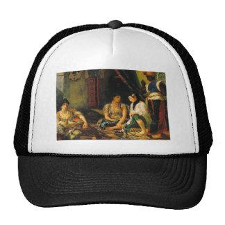 Delacroix Art Trucker Hats