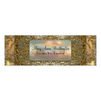 Delancey Astor Elegant Professional Skinny Business Cards