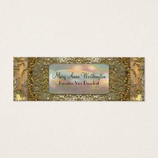 Delancey Astor  Elegant  Professional Skinny Mini Business Card