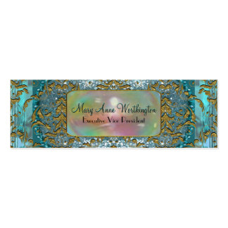 Delancey by the Sea Elegant  Professional Skinny Pack Of Skinny Business Cards