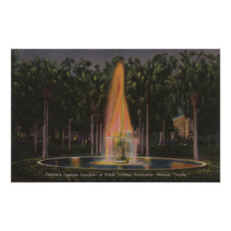 Deland, Florida - Stetson University Poster