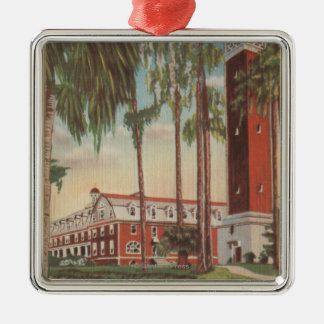 Deland, Florida - View of Stetson University Christmas Ornament