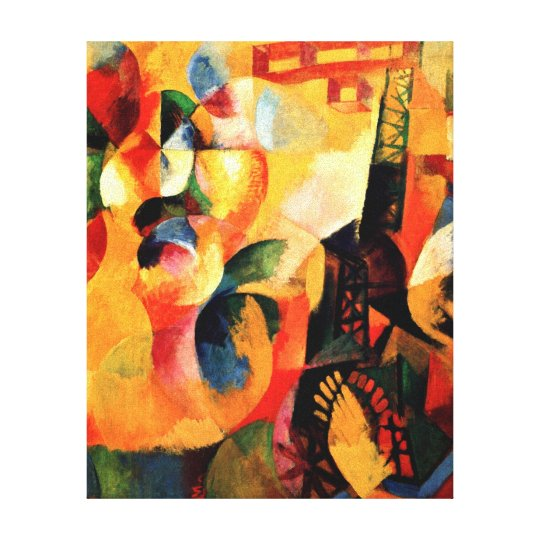 Delaunay - Sun, Tower, Aeroplane Canvas Print