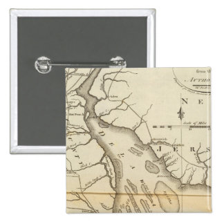Delaware 15 Cm Square Badge