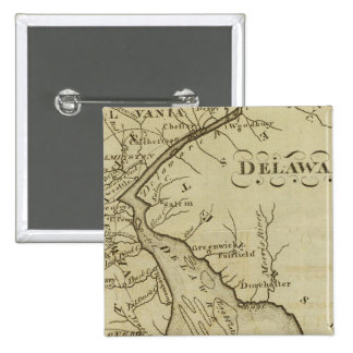 Delaware 15 Cm Square Badge