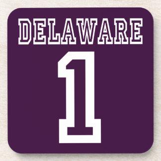 Delaware 1 beverage coasters