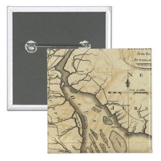 Delaware 2 15 cm square badge