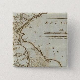 Delaware 3 15 cm square badge