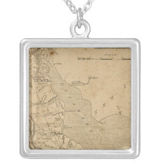 Delaware 3 silver plated necklace