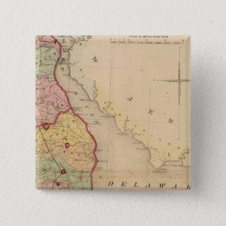 Delaware 4 15 cm square badge