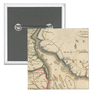 Delaware 5 15 cm square badge
