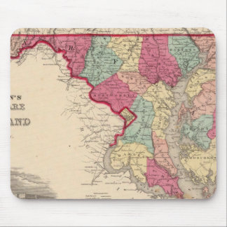 Delaware and Maryland Mouse Mat