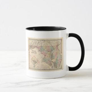 Delaware and Maryland Mug