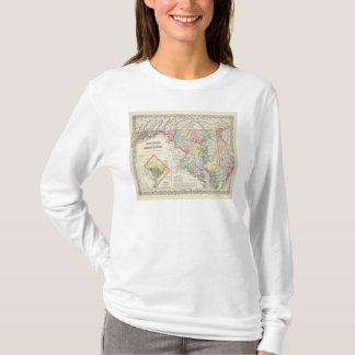 Delaware And Maryland with District of Columbia T-Shirt