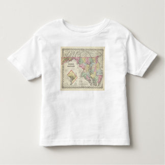 Delaware And Maryland with District of Columbia Toddler T-Shirt
