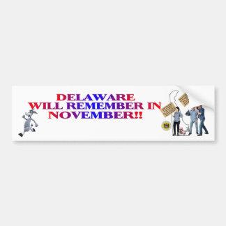 Delaware - Anti ObamaCare, New Taxes & Spending Bumper Sticker