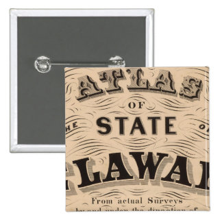 Delaware Atlas 15 Cm Square Badge