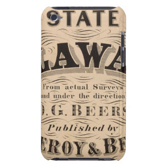 Delaware Atlas iPod Touch Cases