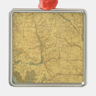 Delaware Bay, New Jersey Christmas Ornament