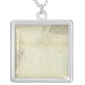 Delaware Bay, River 1 Silver Plated Necklace