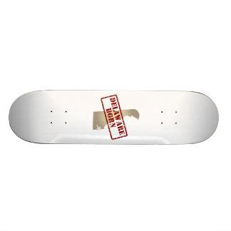 Delaware Born - Stamp on Map Skateboard Decks