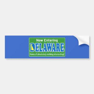 Delaware Bumper Sticker