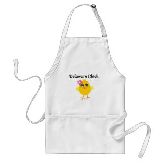 Delaware Chick Adult Apron
