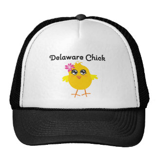 Delaware Chick Trucker Hat