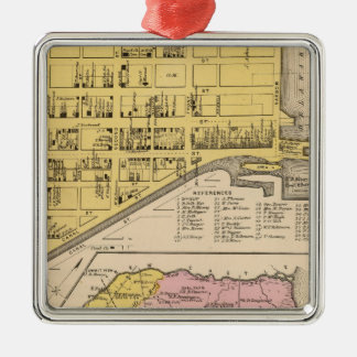 Delaware City, Red Lion Christmas Ornament