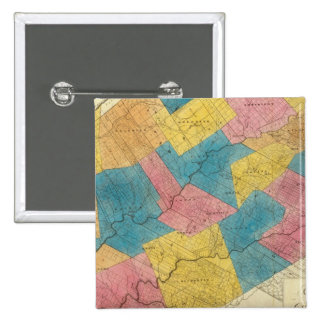 Delaware County 15 Cm Square Badge